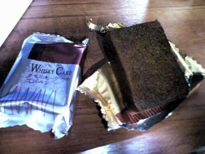 ウィスキーケーキ