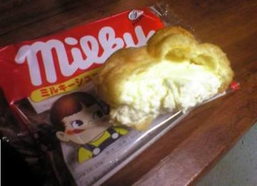 ミルキーシュークリーム