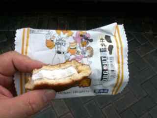 福岡ソフトバンクホークス印のアイス生ドラ