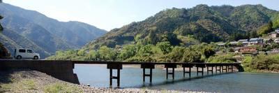 四万十川・岩間の沈下橋