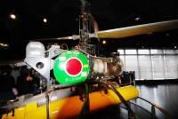 てつのくじら館・無人ヘリで潜水艦を追跡して、搭載している魚雷を発射