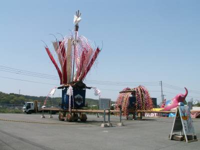 添田神幸祭の山車
