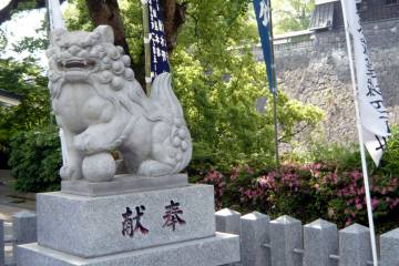 熊本城・加藤神社の狛犬