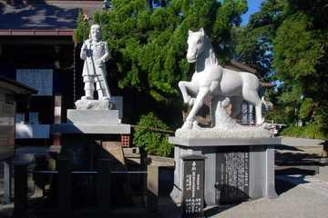 シャンシャン馬発祥の駒宮(こまみや)神社