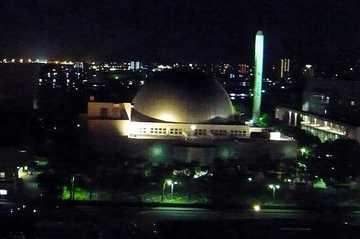 ホテルから見える宮崎科学技術館