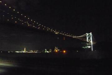 関門橋 北九州側よりの風景
