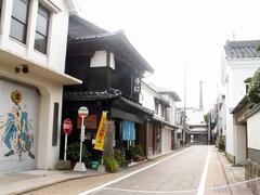 津屋崎の街並み