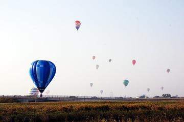 熱気球の渡河作戦