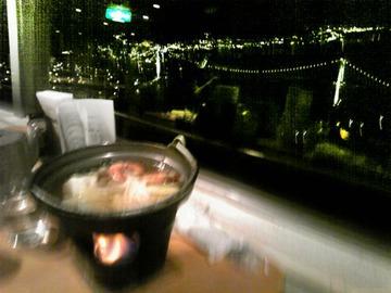 下関・火の山まで、夜景を撮りに行ったのに。