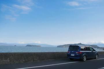LaFESTAと知林ヶ島と魚見岳