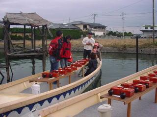 柳川の鰻のセイロムシ