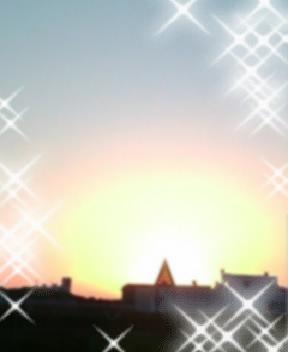 夕日を見ると、青い三角定規の歌を思い出してしまう