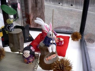 日田を散策して、見つけた人形