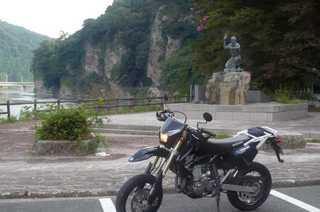 青の洞門(大分県中津市本耶馬渓町