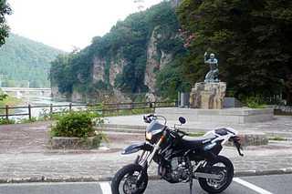 青の洞門(大分県中津市本耶馬渓町)