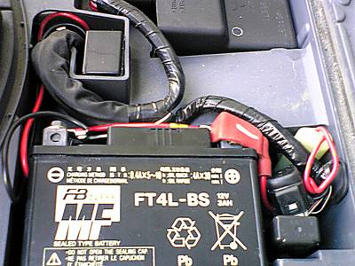 レッツ4のバッテリーチューン