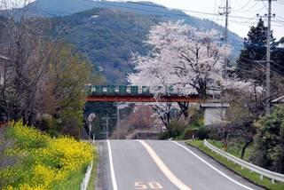 松橋ICからは高千穂方面へと北上する国道にて