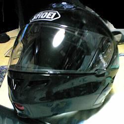 ヘルメット塗装完了