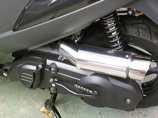 サイレンサー型エアクリーナー