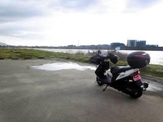 遠賀川沿い