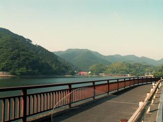 河内のサイクリングセンターのコーナーより、眼鏡橋