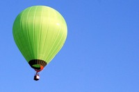 気球を下から眺める/佐賀バルーンフェスタ