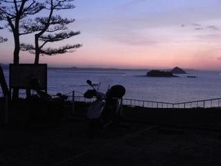 豊功神社からの風景