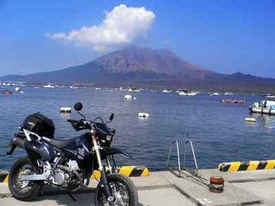 九州ツーリング 鹿児島・海潟