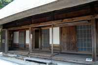 平家落人の里にある鶴富屋敷