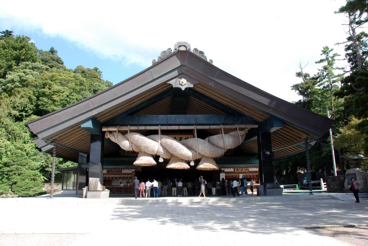 出雲大社神楽殿の写真
