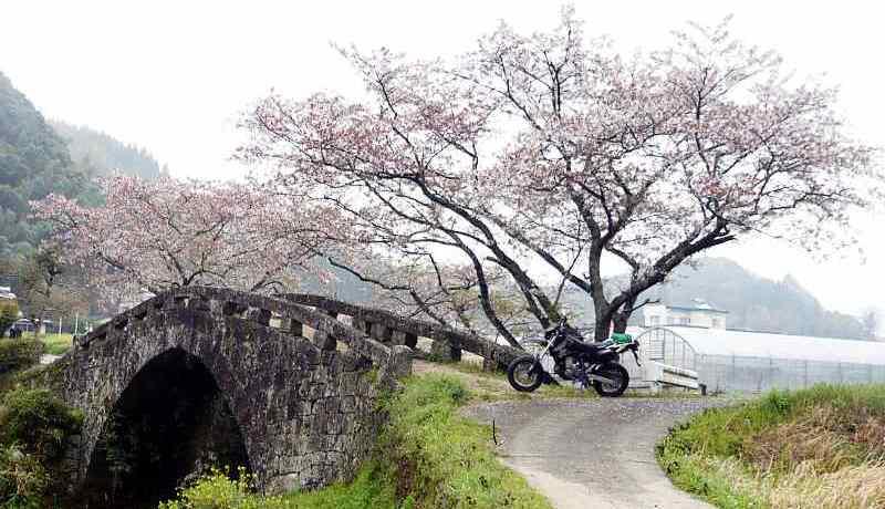 MotoGear/バイクのある風景 熊本県美里町・大窪橋
