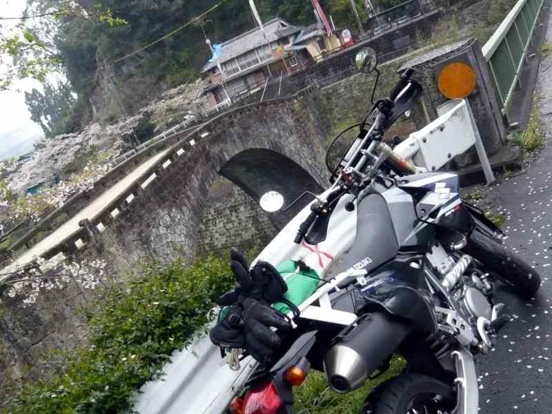 MotoGear/バイクのある風景【熊本県・美里町・霊台橋】