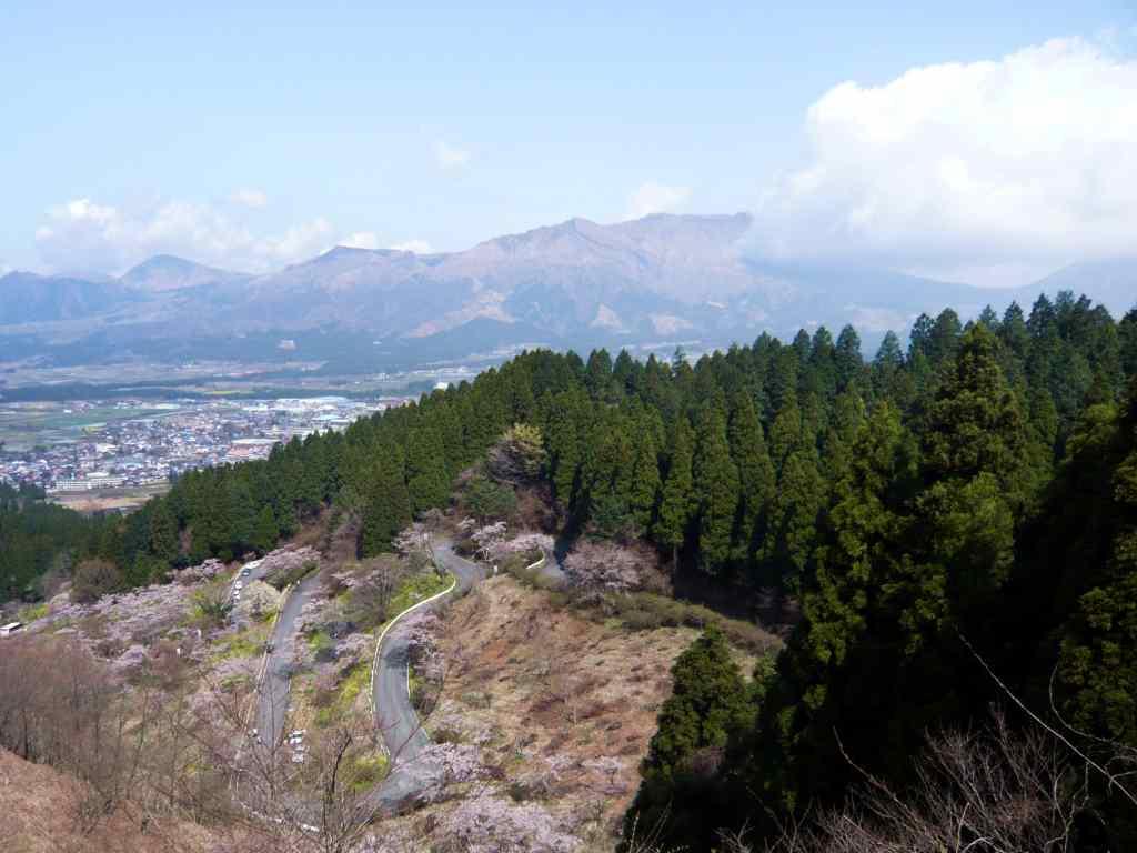 MotoGear/バイクのある風景【熊本県・高森町・千本桜】
