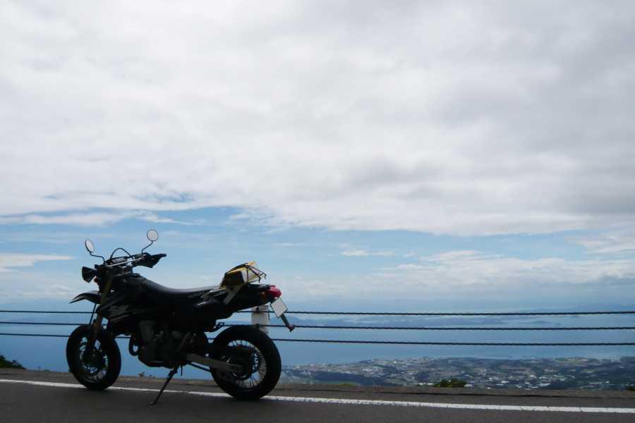 MotoGear/バイクのある風景【天を走るような風景・長崎雲仙仁多峠】