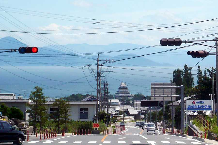 MotoGear/バイクのある風景【島原城】